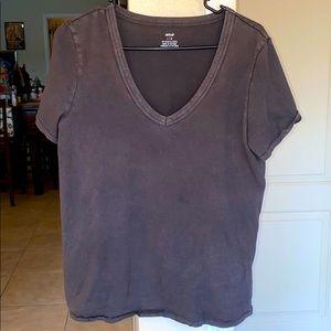 Aerie 100% cotton v neck shirt